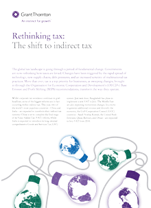 Rething tax cover image